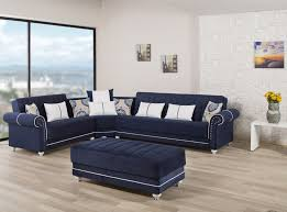 blue sectional sofa with chaise blue sectional couch incredible sofa bed royal home dark by casamode