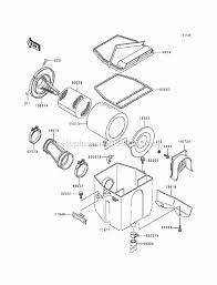 kawasaki klf220 a6 parts list and diagram 1993