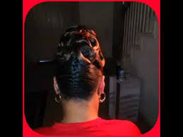 barrel curl ponytaol pincurl ponytail youtube