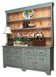 6 ft country sideboard w 4 drawers u0026 3 tall shelf hutch french