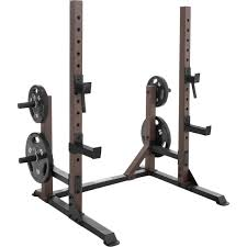 Squat Rack And Bench Marcy Steel Body Deluxe Squat Rack With Plate Holders Strength