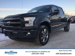 ford truck 2017 new 2017 ford f 150 lariat 4 door pickup in winnipeg 17w1e26
