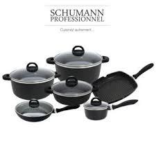 batterie de cuisine pas cher schumann professionnel batterie de cuisine facon schumann