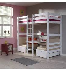 bureau superposé lits superposes enfants avec bureau