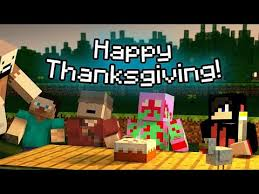 minecraft pe thanksgiving
