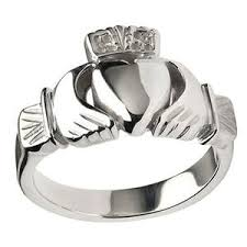 the claddagh ring mens claddagh rings silver gold 100 free shipping