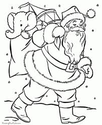coloring pages of santa claus with regard to really encourage to