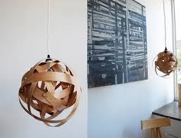 Wood Veneer Pendant Light How To Make Wood Veneer Pendant Lights Made Diy Crafts