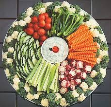 best 25 vegetable tray display ideas on fruit trays