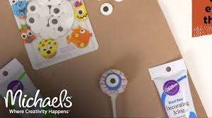 eyeball cake pops halloween costumes u0026 party michaels youtube