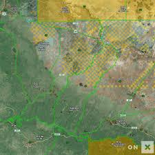 Navajo Reservation Map Arizona Game Management Unit 4a Wildlife