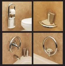 designer grab bars for bathrooms ada compliant grab bars that don t really look like grab bars