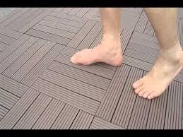 Wood Patio Flooring by Diy Patio Flooring Ideas In Johor Malaysia Youtube