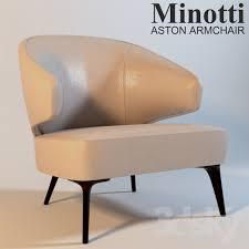 Minotti Armchair 3d Models Arm Chair Minotti Aston Armchair