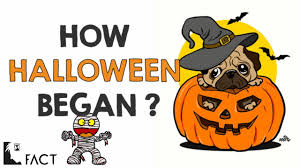 halloween originated from what festival