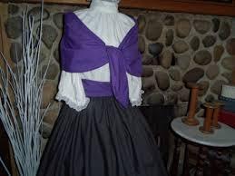 womens or girls colonial shawl fichu civil war sizes pioneer dress