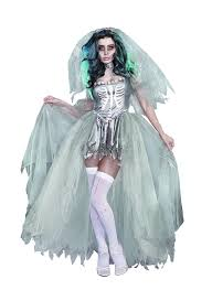 amazon women s halloween costumes amazon com dreamgirl women u0027s the bride of doom dead zombie