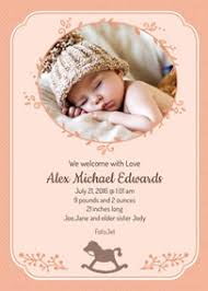 baby announcement cards baby announcements make your own birth announcements online