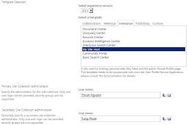 sharepoint 2013 social u2013 part 1 u2013 setting up a new my site host