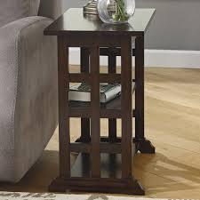 amazon com charlton home suffolk end table lattice design