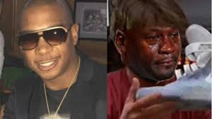 Michael Jordan Crying Meme - ja rule thinks michael jordan gets 1 each time crying meme is posted