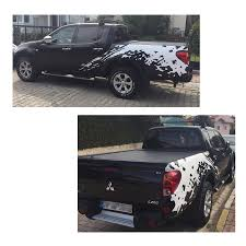 mitsubishi l200 2014 aliexpress com buy mudslinger body rear tail side graphic vinyl