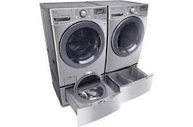 Front Load Washer With Pedestal Lg Twinwash Bundle Lg Usa