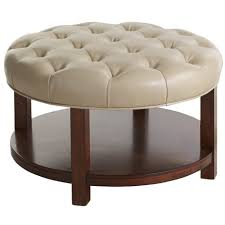 Diy Ottoman From Coffee Table by Ottomans 24 Inch Round Tray Ottoman Coffee Table Tray Decorative
