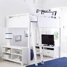 Teen Loft Beds  Bunk Beds PBteen - Loft bed bunk