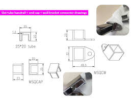 Tubular Handrail Standards Au U0026 Nz Standard Building 25 X 21mm Slotted Stainless Steel Tube