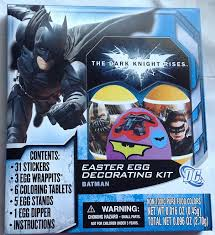 Easter Eggs Decoration Kit by Amazon Com Batman The Dark Knight Rises Easter Egg Decorating