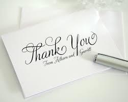 thank you cards wedding wonderful bridal thank you cards writing for fabulous wedding