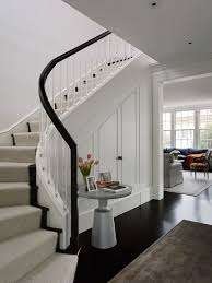 Curved Stairs Design Storage Under Curved Stairs Houzz