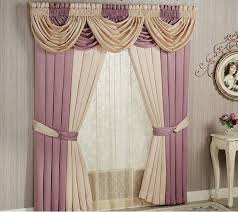 2 Tone Curtains Two Tone And Purple Curtains For Living Room With Layered