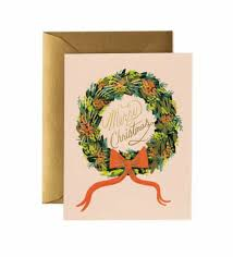 tis the season greeting card by rifle paper co made in usa