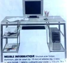 bureau informatique fly bureau informatique fly meuble bureau dangle informatique fly