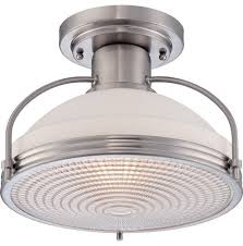 industrial semi flush mount lighting lighting design ideas flush mount industrial lighting quoizel