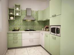 is green a kitchen color home living pista green modular kitchen