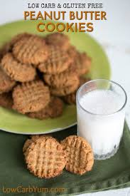 low carb peanut butter cookies with coconut flour low carb yum