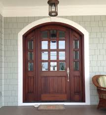 Exterior Door Arch Top Mahogany Doors Traditional Entry Other By M4l Inc