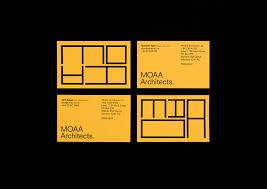 Inhouse New Logo U0026 Brand Identity For Moaa Architects By Inhouse U2014 Bp U0026o