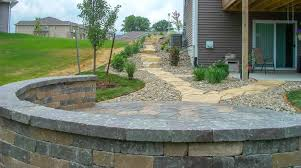 Retaining Wall Patio Retaining Walls Landscaping Design Forever Green Iowa