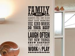 family wall decal family decal living room wall decor