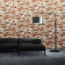 muriva loft brick wallpaper u2013 102538
