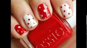 cool and easy nail designs for short nails youtube