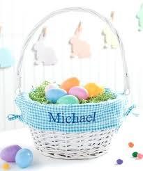 personalized basket monogrammed easter basket personalized baskets monogrammed basket