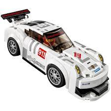 porsche petron lego speed champions 75912 porsche 911 gt finish line mattonito