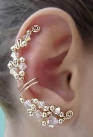 ear cuffs for pierced ears cool ear cuff all the piercings cosas que me encantan