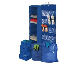honey can do back to blue home organization kit bts 01587