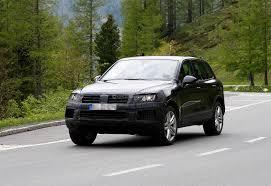 touareg volkswagen 2014 spyshots volkswagen touareg facelift autoevolution